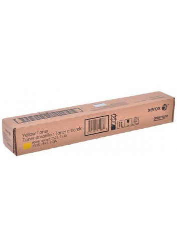 Xerox originál toner 006R01518, yellow, 15000str., Xerox WorkCentre 7525, 7530