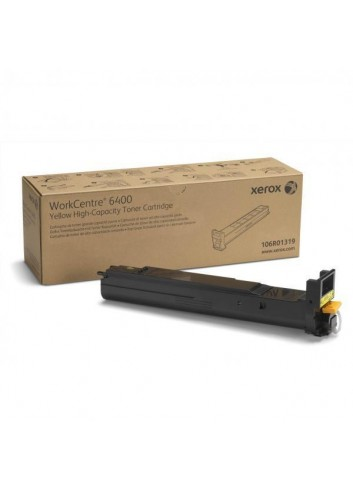 Xerox originál toner 106R01319, yellow, 16500str., high capacity, Xerox WorkCentre 6400