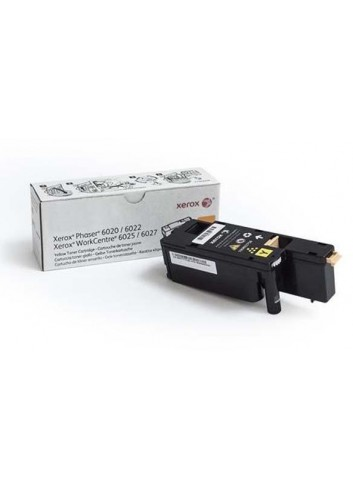 Xerox originál toner 106R02762, yellow, 1000str., Xerox Phaser 6020, 6022, WorkCentre 6025, 6027