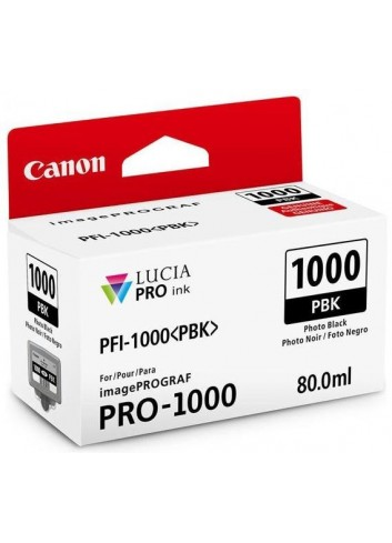 Canon originál ink 0546C001, photo black, 2205str., 80ml, PFI-1000PBK, Canon imagePROGRAF PRO-1000