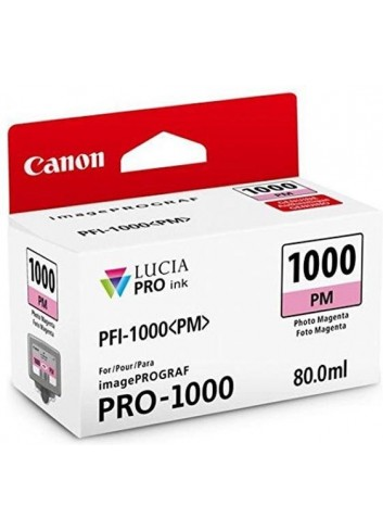 Canon originál ink 0551C001, photo magenta, 3755str., 80ml, PFI-1000PM, Canon imagePROGRAF PRO-1000