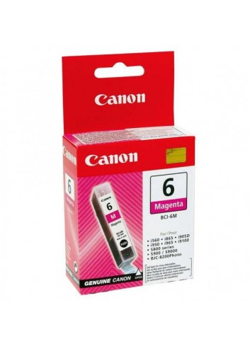 Canon originál ink BCI6PM, photo magenta, 13 4710A002, Canon S800, 820D, 830D, 900, 9000, i950
