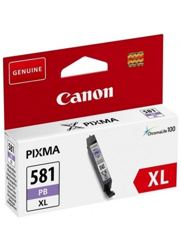 Canon originál ink CLI-581PB XL, photo blue, 8,3ml, 2053C001, very high capacity, Canon PIXMA TR7550,TR8550,TS6150,TS6151,TS8150