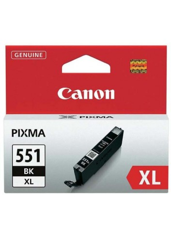 Canon originál ink CLI551BK XL, black, 1130str., 11ml, 6443B001, high capacity, Canon PIXMA iP7250, MG5450, MG6350, MG7550