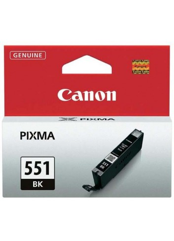 Canon originál ink CLI551BK, black, 7ml, 6508B001, Canon PIXMA iP7250, MG5450, MG6350, MG7550
