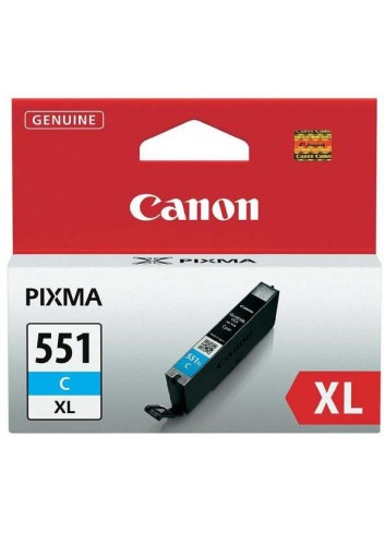 Canon originál ink CLI551C XL, cyan, 11ml, 6444B001, high capacity, Canon PIXMA iP7250, MG5450, MG6350, MG7550