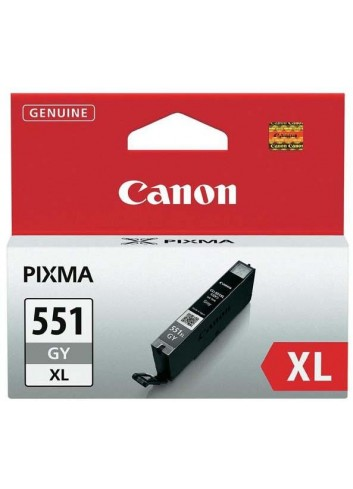 Canon originál ink CLI551GY XL, grey, 11ml, 6447B001, high capacity, Canon PIXMA iP7250, MG5450, MG6350, MG7550