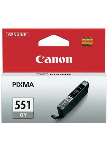 Canon originál ink CLI551GY, grey, 7ml, 6512B001, Canon PIXMA iP7250, MG5450, MG6350, MG7550