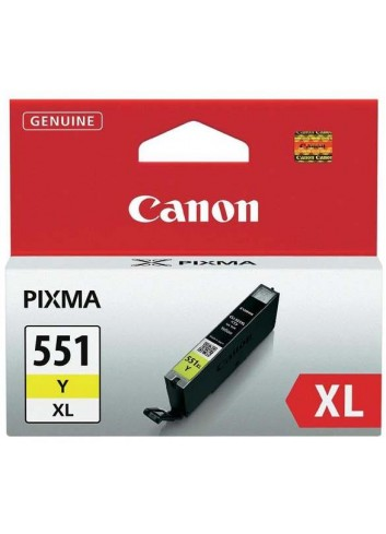 Canon originál ink CLI551Y XL, yellow, 11ml, 6446B001, high capacity, Canon PIXMA iP7250, MG5450, MG6350, MG7550