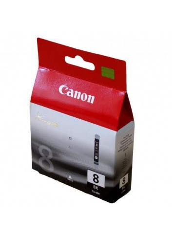 Canon originál ink CLI8BK, black, blister s ochranou, 940str., 13ml, 0620B029, 0620B006, Canon iP4200, iP5200, iP5200R, MP500, M